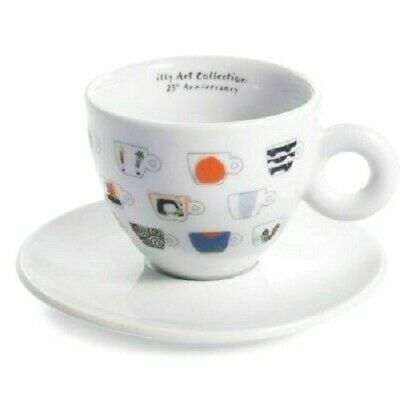 Illy Art Collection 25° Anniversary Cappuccino Cup + Saucer IPA Limited Edition  • 20.74£