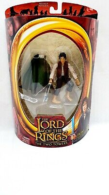 £14 • Buy Lord Of The Rings Frodo With Light Up Sting  Action Figures,toybiz