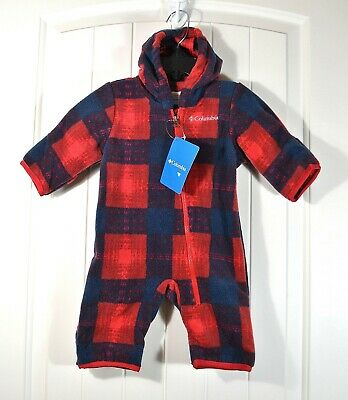 Old Navy Baby Boys 6-12 MONTHS One-Piece Fleece Bunting Coat BEAR Navy #35919