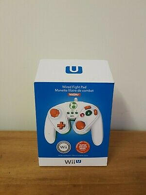 AU30 • Buy Nintendo Wii U Yoshi Wired Fight Pad Gamecube Controller AS NEW AUS Stock