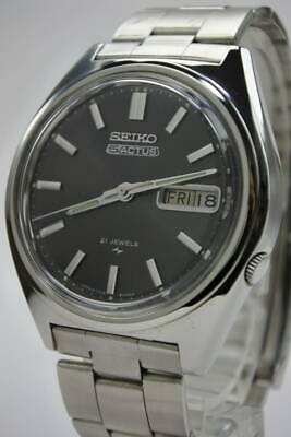 $ CDN613.36 • Buy Seiko 5 Actus 7019-8010 Vintage 21 Jewels Day Date SS Box Automatic Mens Watch
