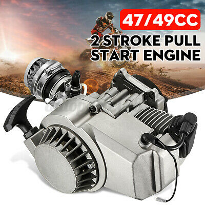 AU70.99 • Buy 49cc 2 Stroke Pull Start Engine Motor Mini Pocket PIT Dirt Quad Bike ATV