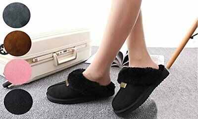 New GCG Geniune Ladies Faux Sheepskin Slippers Mules Non Slip Hard Sole Women • 11.45£