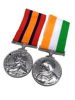 AU26.66 • Buy Replica Boer War Medals, Queens South Africa Medal (QSA) And Kings South Africa