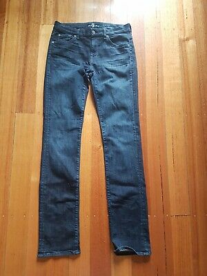 AU49 • Buy 7 For All Mankind Kimmie Straight Leg Jeans Size 30