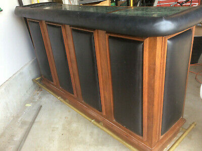 $800 • Buy Vintage Dry Bar & Wine Serving Custom Cabinet With Granite Top - One Of A Kind!
