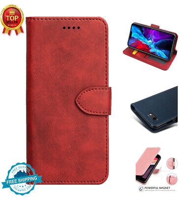 AU7.98 • Buy For IPhone 11 Pro Max 7/8/SE 2020 Magnetic Wallet Case Ultra Flip Stand Cover