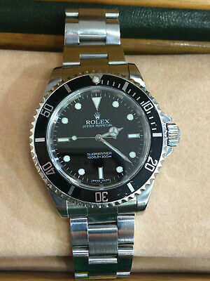 $ CDN11303.54 • Buy Rolex Submariner Stainless Steel 40mm Dive Watch 14060M Z Series Box & Papers!