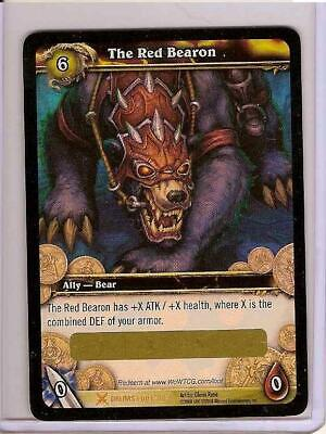 WoW Loot Card - The Red Bearon - Big Battle Bear - Der Rote Bäron • 450.13£
