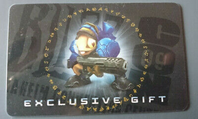 WoW Loot Card - Blizzcon 2009 Grunty / Murloc Space Marine • 405.11£