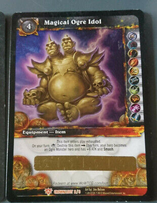 WoW Loot Card - Oger Kostüm Magischer Ogergötze - Magical Ogre Idol - Toy Box • 180£