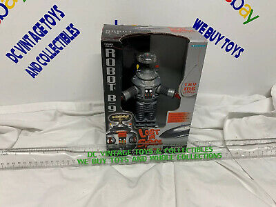 AU142.51 • Buy LOST IN SPACE Robot B-9 Small 7  Collector Edition Brand New Opened Box