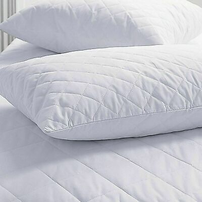 Waterproof Quilted Non-allergenic Soft Mattress Protector Fitted Sheet Cover  • 14.99£