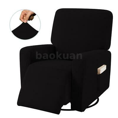 AU42.99 • Buy Recliner Non Slip Chair Sofa Stretch Cover Furniture Couch Side Pocket Protector