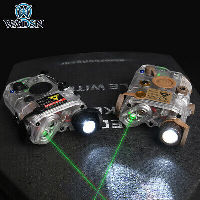 Green Laser Indicator IR Lighting Tactical LA-5C/PEQ-15 PEQ15 Set • 31.50£