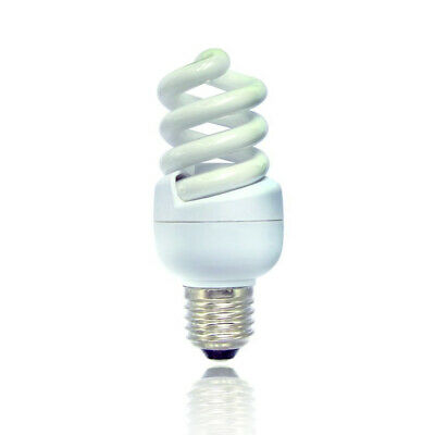 Bell  15w = 75w ES Cap Spiral - Extra Warm White 827 Compact Fluorescent Lamp • 7.49£