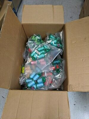 $1667.76 • Buy Isacord Machine Embroidery Thread Fine Strong Poly JOB LOT
