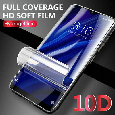 HD Screen Protector For Huawei P40 Pro P20 Mate 20 Lite Clear Soft Hydrogel Film • 1.99£