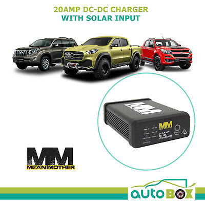 AU199.85 • Buy Mean Mother DC To DC 20A Charger 4WD Dual Battery With Solar Input
