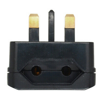 European Euro EU 2Pin To 3Pin Plug Adapter Power Socket Converter Travel T7I7 • 1.92£