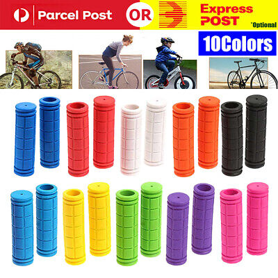 AU9.35 • Buy Silicone Soft BMX MTB Cycle Road Mountain Bike Scooter Bicycle Handle Bar Grips