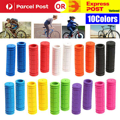 AU11.99 • Buy Silicone Soft BMX MTB Cycle Road Mountain Bike Scooter Bicycle Handle Bar Grips