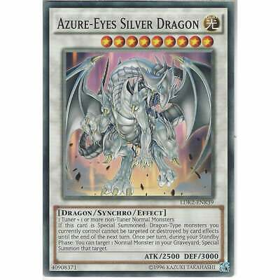 LDK2-ENK39 Azure-Eyes Silver Dragon | Unlimited Common YuGiOh Trading Card Game • 1.10£