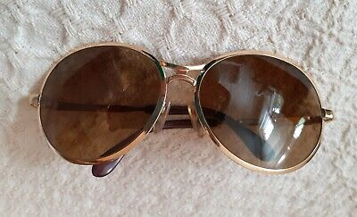 Vintage Rodenstock Bernina 120 Luxury Gold Amber Sunglasses Made In Germany  • 50£