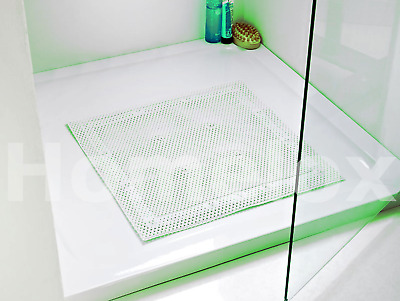 BELDRAY THICK CUSHIONED SUCTION NON SLIP BATH SHOWER MAT 52cm X 52cm • 7.90£