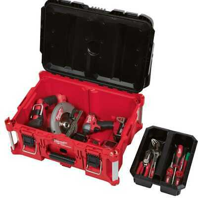 View Details Milwaukee 48-22-8425 PACKOUT Large Tool Box New • 74.95$