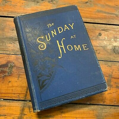 1887 'the Sunday At Home' Religious Tract Society London Antique Book  • 55.63£