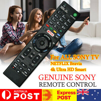 AU15.89 • Buy For ALL SONY TV NETFLIX 4k Bravia Ultra HD Smart TV Replacement REMOTE CONTROL