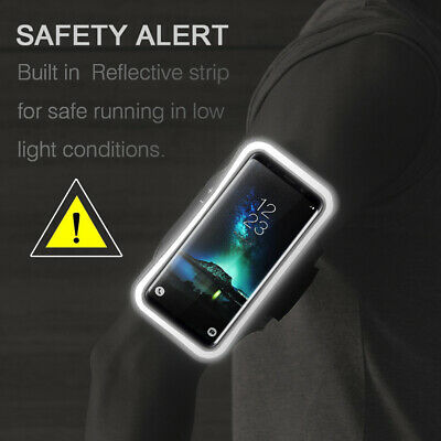 AU3.58 • Buy IPhone Gym Running Armband Jogging Sports Exercise Holder Strap For Apple Mobile