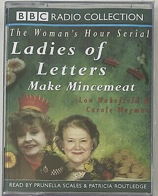 New Sealed - LADIES OF LETTERS MAKE MINCEMEAT By LOU WAKEFIELD & CAROLE HAYMAN • 3.99£