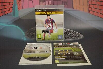 £17.86 • Buy Fifa 15 Ultimate Team Edition (PLAYSTATION 3 PS3 2014) Full IN Box