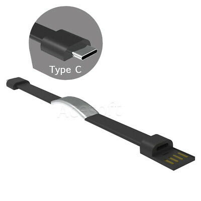 $7.88 • Buy Bracelet Wrist Band USB Charging Charger Data Sync Cable For Micro USB/Type-C