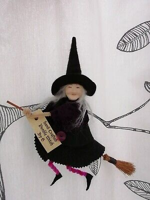 Handmade Pendle Witch • 15£