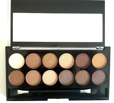 £2.99 • Buy Mua Heaven & Earth Eyeshadow Palette 12 Shades New & Sealed But Case Scratched