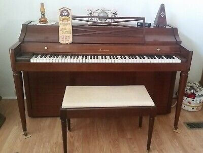 """$500 • Buy 1958 Acrosonic Spinet By Baldwin 36"""" Piano In XLT Condition [tuned]"""