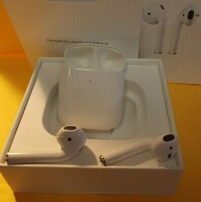$ CDN127.46 • Buy Genuine Apple AirPods 2nd Generation With Wireless Charging Case MRXJ2AM/A