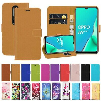 For OPPO A9 2020, A5 2020 PU Leather Magnetic Wallet Flip Stand Phone Case Cover • 4.99£