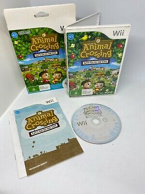 AU59 • Buy Nintendo Wii Game Animal Crossing In Box With Booklet