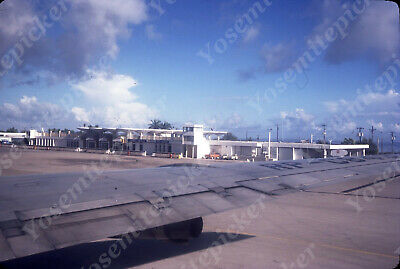 $7.99 • Buy Sl00 Original Slide 1970s Guam Airport 505a