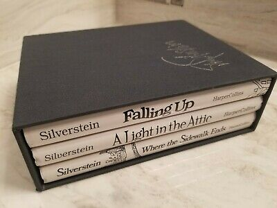 SHEL SILVERSTEIN Poems & Drawings Hardcover BOOK BOX SET Collectors Edition • 32.76£