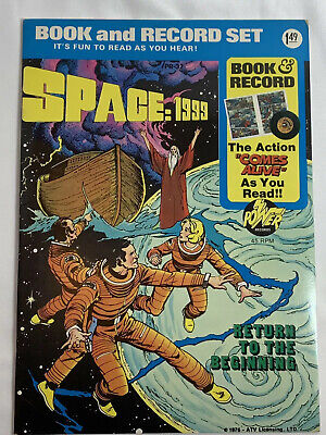 $13.99 • Buy Space 1999 Return To The Beginning Book And Record Set 1976