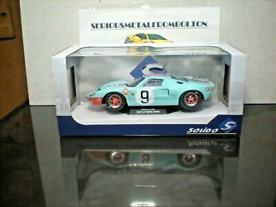 Solido 1803001 Ford Gt40 Mk1 #9 Winner Le Mans 1968  1:18 • 50£