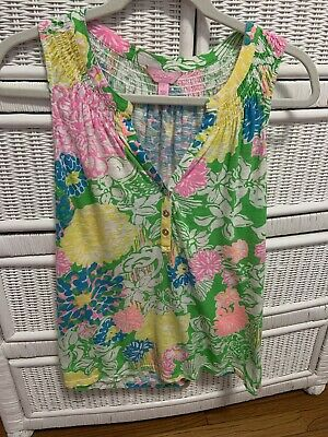 $25 • Buy Lilly Pulitzer Sleeveless Top Small