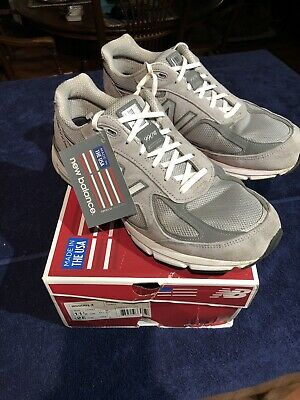 $125 • Buy New Balance 990v4 Mens Size 11.5 2E Grey Made In The USA