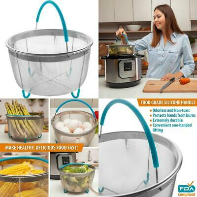 $25.99 • Buy Komfyko Steamer Basket 6 Quart [3Qt 8Qt Avail]- Compatible With Instant Pot Acce