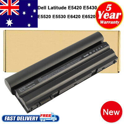 AU49.99 • Buy 9 Cell Battery For Dell Latitude E5430 E5520 E5530 E6420 E6430 E6520 E6530 NHXVW